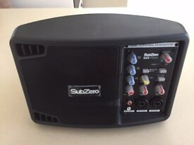 Sub Zero 150 watt powered portable monitor - excellent condition