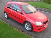 Vauxhall/Opel Corsa 1.2i 16v 2006MY SXi+ MOT 22/5/17 80750 Mls 3 Dr Red Alloys
