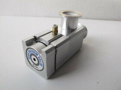 Smc High Vacuum Valve - Angle Manual - Xlaq-25-x924 Kf-25 Nw25 Aluminum