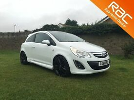 VAUXHALL CORSA 1.2 LIMITED EDITION 3d 83 BHP LOW MILEAGE EXAMPLE (white) 2011