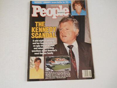 Michael Landon  Kim Basinger  Alec Baldwin  George Foreman  People Magazine 1991