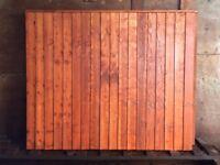 Closed Board Vertilap Fencing Panels
