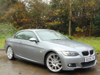 BMW 3 SERIES 2.0 320I M SPORT 2d 168 BHP (grey) 2009