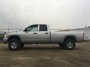 2004 Dodge Ram 2500 SLT 4X4 HEMI = CREW CAB LONG BOX = NEW PARTS Edmonton Edmonton Area image 1