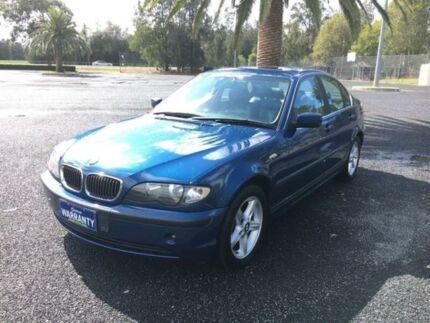 2003 BMW 320i E46 Blue 5 Speed Sports Automatic Sedan