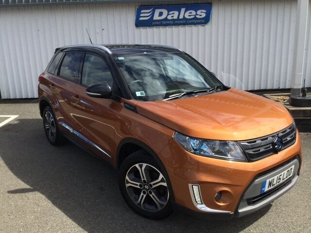 suzuki vitara 1 6 sz5 urban pack 5dr estate orange black 2015 in newquay cornwall gumtree. Black Bedroom Furniture Sets. Home Design Ideas
