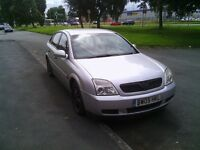05 plate vauxhall vectra 1.8 petrol mot october 16 £465 ono or swap for bike 400cc upto 1200cc