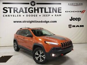 2016 Jeep Cherokee Trailhawk, ONE OWNER, COLD WEATHER GROUP, DUA