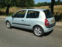 2004 54reg RENAULT CLIO 1.2 1149cc - WILL HAVE 12mth M.O.T - GREAT LITTLE HATCHBACK