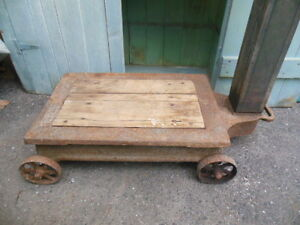 Antique Platform Grain or Feed Scale