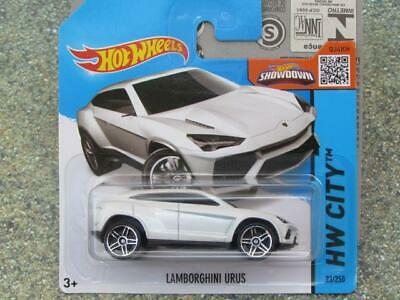Hot Wheels 2015 #023/250 Lamborghini Urus Blanco Fundición 2015 segunda mano  Embacar hacia Spain