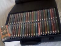 THE MUSICALS COLLECTION BY ORBIS : 48 TAPES IN CASE. VERY-VERY RARE & SELDOM USED. FROM CASSETTEQUE.
