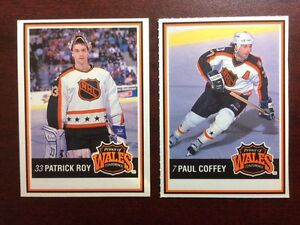 9 Jello/Kraft Hockey Cards Roy - Lafontaine and more
