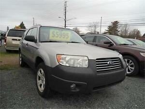 2006 Subaru Forester 2.5X, NEW MVI ,  GREAT TIRES