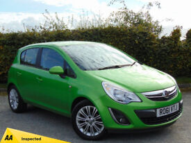VAUXHALL CORSA 1.4 SE 5d AUTOMATIC (green) 2011