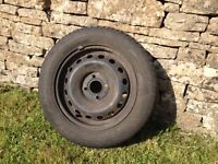 Renault Clio MK2 steel rims/tyres