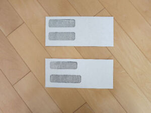 Single / Double Windows Envelopes