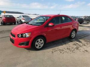 2015 Chevrolet Sonic LT CLEAN ONLY 113KM