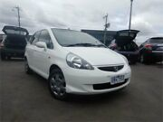 2005 Honda Jazz Upgrade GLi White Continuous Variable Hatchback Burwood Whitehorse Area Preview