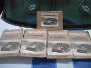 Genuine Ford Service Manuals Explorer Mondeo Taurus Festiva Laser Lonsdale Morphett Vale Area Preview