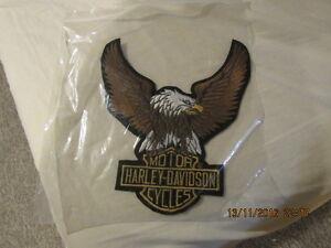 Harley Davidson Patch for a Jacket