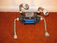 Watermill shower booster water pump with transformer