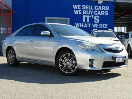 2010 Toyota Camry AHV40R MY10 Hybrid Silver 1 Speed Constant Variable Sedan Hybrid Welshpool Canning Area Preview