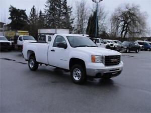2009 GMC SIERRA 2500HD REGULAR CAB LONG BOX 2WD 3/4 TON