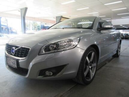 2014 Volvo C70 MY13 T5 Silver 5 Speed Auto Geartronic Convertible