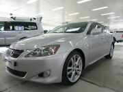 2006 Lexus IS250 GSE20R Sports Silver 6 Speed Auto Sequential Sedan Fyshwick South Canberra Preview