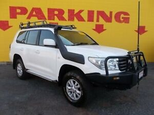 2009 Toyota Landcruiser VDJ200R GXL White 6 Speed Auto Active Select Wagon Winnellie Darwin City Preview