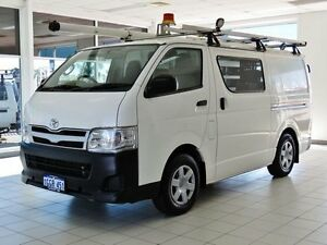 2011 Toyota Hiace TRH201R MY11 Upgrade LWB White 5 Speed Manual Van Morley Bayswater Area Preview