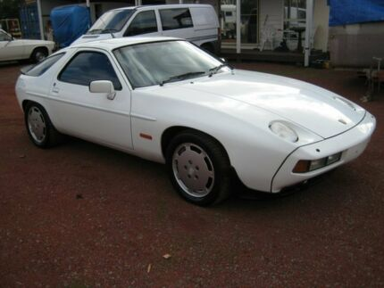 1985 Porsche 928 S White 4 Speed Automatic Coupe Bacchus Marsh Moorabool Area Preview