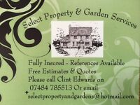 All aspects of property and gardening services under one roof