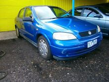 2004 Holden Astra TS MY04.5 Classic Blue 5 Speed Manual Hatchback Moorabbin Kingston Area Preview