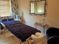 Relaxing, holistic massage by fully qualified therapist
