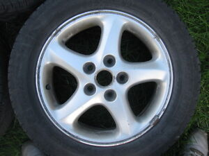 "Four 16"" tires on Mazda3 Rims 205/60R16 Sarnia Sarnia Area image 3"