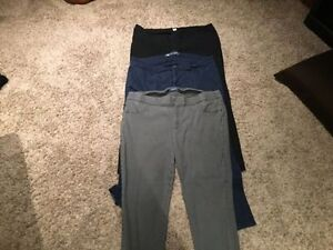 3 pairs of Old Navy casual pants
