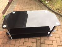 Heavy glass great quality TV stand