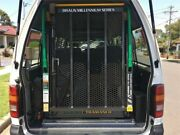 2004 Toyota Hiace LH184R Commuter White Manual Wheel Chair Lift Bus Lidcombe Auburn Area Preview