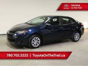 2017 Toyota Corolla LE CVT; LOW KM, SAFETY SENSE, SUNROOF, BLUET