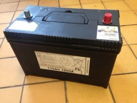 Heavy Duty Car Battery: YUASA 640SHD 12v 115Ah 1000A ( Suit 4x4)