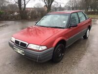 Rover 218 SD Turbo diesel cheap reliable car with 11 months mot