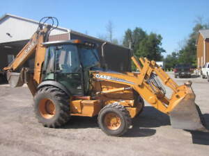 2007 Case 590SM Series II Loader Backhoe