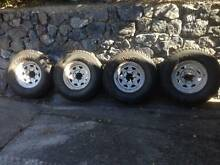 Four Sunraysia tyres for Toyota Cruiser/Hilux4x4 Bellbowrie Brisbane North West Preview