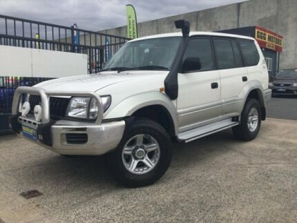 2000 Toyota Landcruiser Prado KZJ95R GXL 4 Speed Automatic Wagon Underwood Logan Area Preview