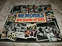 "READERS DIGEST ""MEMORIES ARE MADE OF HITS""-8 X 12.INCH VINYL LP'S BOX-SET-EX+"