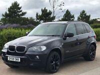 BMW X5 3.0 XDRIVE30D M SPORT 5d AUTO 232 BHP (black) 2009