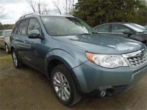 2012 Subaru Forester X Limited- AS IS