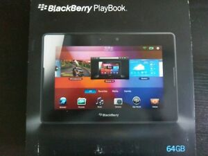 Blackberry 64 GB Playbook with Mini Keyboard and cover.